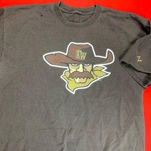 Wyoming Cowboys Cartoon Shirt